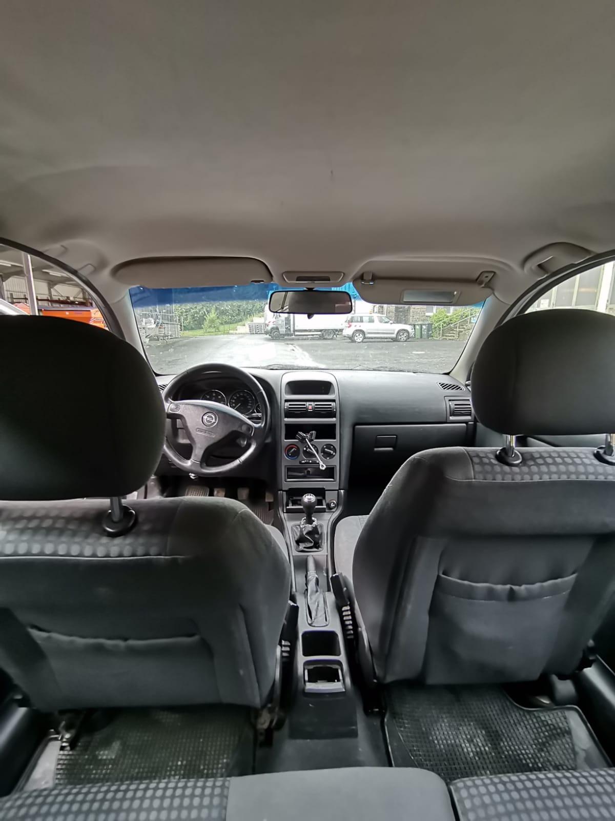 Opel Astra (Innenansicht)