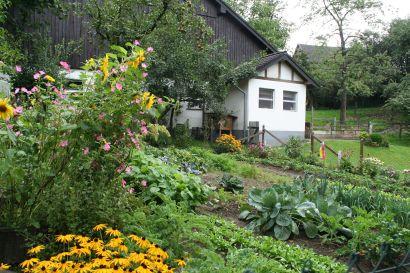 Beeindruckender Bauerngarten in Mennkausen