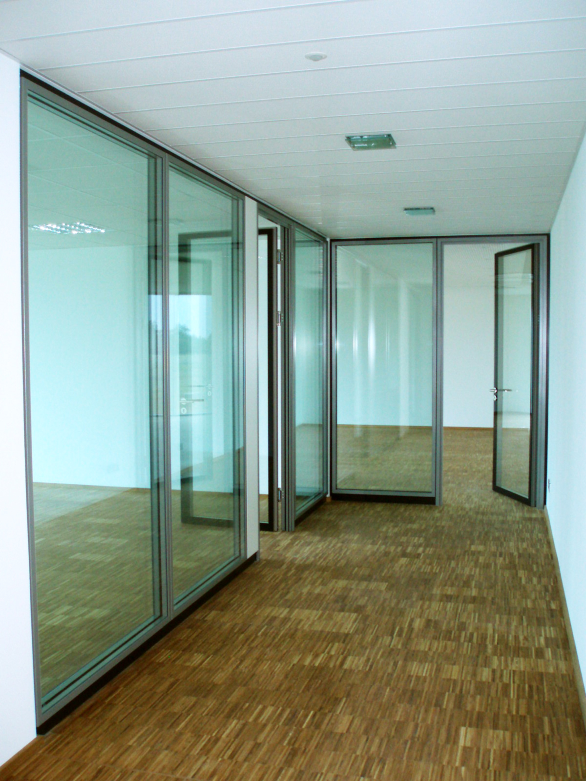 Sie haben einen Blick in die Büroräume der Firma Münker