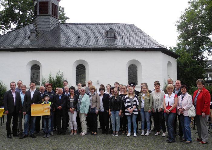 Empfänger der Ehrenamtskarte in Reichshof