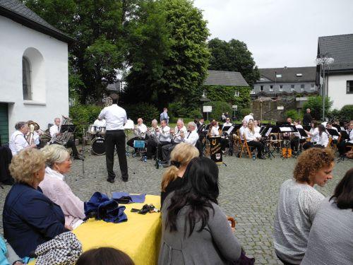 Sommerkonzert auf dem Burghof 16